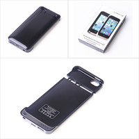 Wholesale Ultra thin Power Bank mah External Battery Backup Power Bank Clip Case Cover for iPhone C S Work With iOS