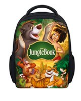 army backpacks for sale - Hot Sale Mini School Bags for Boys Cartoon The Jungle Book Schoolbag Children Baby Kid Mochila Infantil Children Book Bags