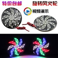 Wholesale LED Refires motorcycle lighting pedal flash lamp v led bicycle refires lantern windmill light Motorcycle perfo