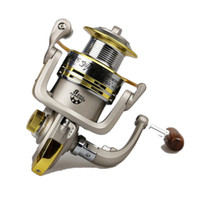 Cheap YOPOON Brand Fish Outdoor GS1000-7000 Spinning Fishing Reel coil gear 6BB 5.1:1 Left Right Handle Carp Fishing Reels Rock Fishing Wheel