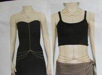 Wholesale Women Alloy Bikini Body Chain Elegant Lady Beach Belly Chains Jewelry Body Chain TS9020