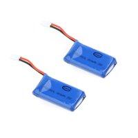 3d lipo Avis-2pcs 3.7V 380mah 25C Walkera Upgrade Spare batterie LiPo pour Walkera Mini / Genius / Hélicoptère Cène CP 6CH 3D