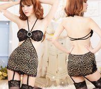 beach sex - Leopard Sexy lingerie set beach bikini lingerie costumes sexy underwear women sex product erotic lingerie babydoll dress