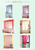 Wholesale String Curtains With Hearts Door Decorations Fly Screen cm x cm