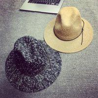 Precio de Casquillo bretaña-Venta al por mayor-Libre 2015 Gran Bretaña Sun de la manera a prueba de Vestir Cap Cap color que mezcla Ala ancha