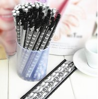 Wholesale New set The Piano Music Pencils Fashion Pencils Lovely Pencil Stationery For Kid s Gift