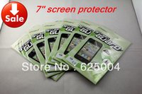 Wholesale inch LCD screen protector screen protective film screen guard for GPS naviagrtor tablet pc PDA MP5