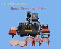 Wholesale Advanced New Design In Combo Heat Press Machine Plate Mug Cap T Shirt Heat Press Heat Transfer Machine Sublimation machine