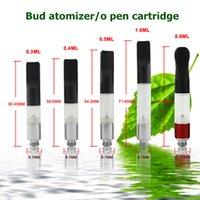 Wholesale CBD hemp cartridge bbtank high quality atomizer bud touch bbtank o pen cartridge bud atomizer with ml sw05