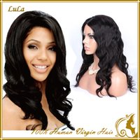 made products - New design hair wigs A grade unprocessed full lace Peruvian human hair wigs wavy hair products