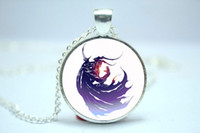 american iv - 10pcs Final Fantasy IV FF4 logo inspired glass cabochon dome pendant Two styles of choice