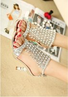 Cheap Wedding Gorgeous Pearl Shoes Best Sandals High Heel Bridal Wedding Shoes