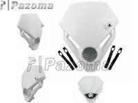 motorcycle headlamp - PAZOMA Dirt bike Motorcycle headlight Universal Vision LED Headlight as GASGAS TXT PRO Racing motorcycle headlamp