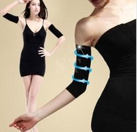 Wholesale 400pcs Slimming Ladies Weight Loss Arm Shaper free size Cellulite Fat Buster slimmer Black Nude Opp Bag