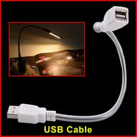 Wholesale 10pcs Portable USB extender cable for computer USB LED lamp