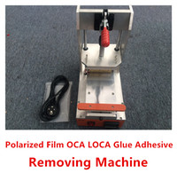 adhesive screen cleaner - Newest Cheap LCD Touch Screen LOCA OCA UV Glue Adhesive Manual Remove Machine OCA Cleaning tools for iphone s c s plus universal