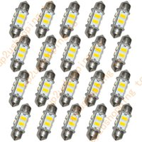 Wholesale 20pcs MM SMD LED Bulbs Car Interior Dome Lights quot Festoon Warm White for