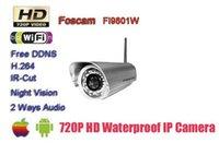 Wholesale Foscam FI9801W Mega Pixels Audio IP Camera HD P H IR Cut Free DDNS