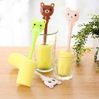 Wholesale 2015 New Multifunctional Degree Spin Sponge Baby Bottle Brush Nipple Brush Cleaner Cleaning Tool