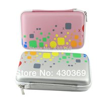 Wholesale Colorful Leather Waterproof Bag for Hard Drive Bag Disk Phone Camera Mp5 Portable HDD Mobile Power Box Case OEM