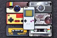 cassette case - for iPhone plus case retro Radio cassette Magnetic Ttape Camera back cover case for iphone iphone phone case