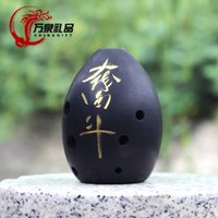 Wholesale Today gift Deals ancient musical instrument pottery Xun beginner clay burning products features crafts souvenirs gifts