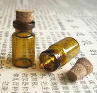 amber glass vial cork - 500 x ml Amber Glass Bottle With Cork cc Small Brown Corked Bottle Mini Amber Vials