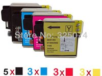 Wholesale 14 ink cartridge compatible with LC39 LC61 LC65 LC67 LC985 LC1100 for Brother DCP C C J125 J315W MFC C CW J220
