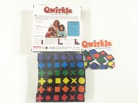 adult chess - Qwirkle Board Game Adult Desktop Games Wooden toys buttoned chess puzzle game Qwirkle is a fantastic game for families