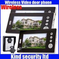 video door entry system - 7 quot Wireless Video Door Phone Audio Visual Intercom Remote Entry System
