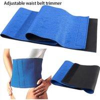 Wholesale Adjustable Trimmer Exercise Wrap Bodybuilding Workout Belt Slimming Belt Burn Weight Loss Body Shaper Fitness Waist Belt SLYP