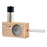 vapor mods - 2015 Newest Magic Flight Launch Box Vaporizer Smoking Vapor Cigarette Kit wooden box MOD