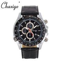 auto glass suppliers - Chaxigo Brand Men s Fashion Leather Analog Clock Sports Watch Quartz Movement Watches China Supplier