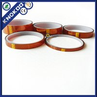 Wholesale 20 rolls High temperature resistance tape mm m inch yard Polyimide tape Insulation Film for BGA soldering