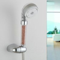 Wholesale Water saving Booster Hand Shower Head With Shower Hose With Hook Shower Sets