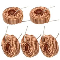Wholesale 2015 Special Offer High Standard uH A Brass Tone Toroid Core Inductor Coil Wire Wind Wound for DIY