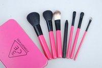 Cheap wholesales-Korea stylenanda 3ce makeup brush set Professional makeup brush set 7pc portable makeup brush tools 10 sets lot free shipping