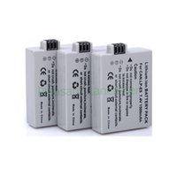 Wholesale 10pcs mAh LP E5 LPE5 E5 LI ION digital Camera Batteries For Canon D D D for canon accessories