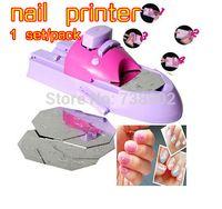 Wholesale big discount nail polish nail printer digital nial printer nial art machine Pattern Template Kit