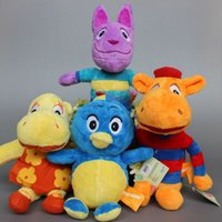 backyardigans dolls - The Backyardigans Toys Plush Pablo Tasha Tyrone Uniqua Plush Toy Dolls Child Gifts