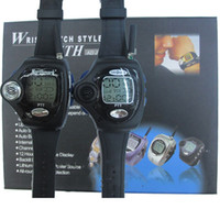 Wholesale Pair Wrist Watch Walkie Talkie handy Two Way Radio rado watch For Couple LCD Intercom Digital Walkietalkie CB Transceiver