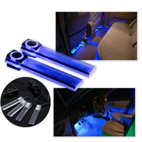 Wholesale 4 in Car LED interior ambient lighting atmosphere within the automotive supplies decorative lights Color dropshipping K778