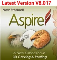 Wholesale latest Version Vectric Aspire V8 For Win bit Full Function Support For Multi Language send by email