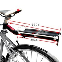 Wholesale Aluminum Alloy Mountain MTB Bike Bicycle Rack Rear Carrier Seat Post Shelf Quick Removal and Installation Max Load kg