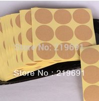 Wholesale Shipping By Fedex cm diameter DIY Round Kraft paper Sticker Label for chocalate amp Cake box Custom Logo cost extra logo fee