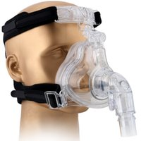 Wholesale FM S M L Size CPAP full face mask anti snoring sleep mask with headgear