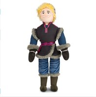 Wholesale Retail CM New Frozen Kristoff Plush Dolls Stuffed plush Soft Toys Baby Toy BO6957