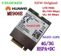 Wholesale Original New HUAWEI G LTE Module ME906E G GPS WCDMA NGFF Network Card for Ultrabook Tablet Laptop Pad