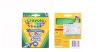 Wholesale 10sets Crayola Virtual Design Pro Fashion Christmas Gifts for Children Crayons Colors large washable Crayola