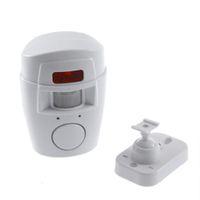 Wholesale hot best selling Ir Infrared Sensor de segurança Detector de controle remoto sem fio IR Infrared Sensor de movimento de segurança Detector